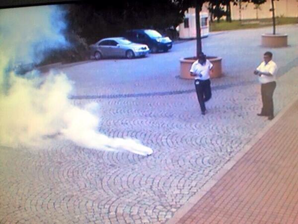 British consulate Istanbul gassed