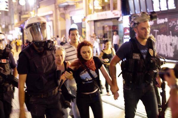 July 6 Taksim daughter mother